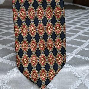 Pierre Balmain silk extra long tie USA